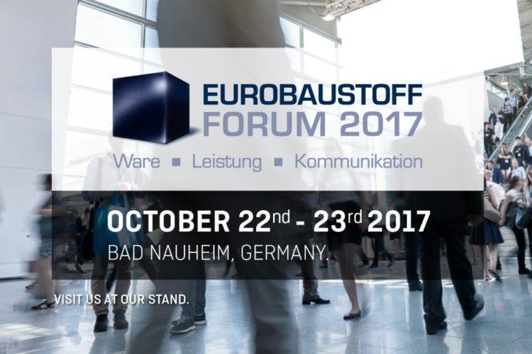 BÜSCHER besucht EUROBAUSTOFF-Forum 2017