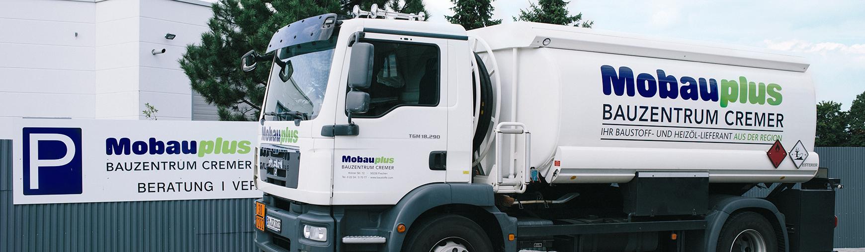 Heizöl Tankwagen von Mobauplus Cremer in Frechen